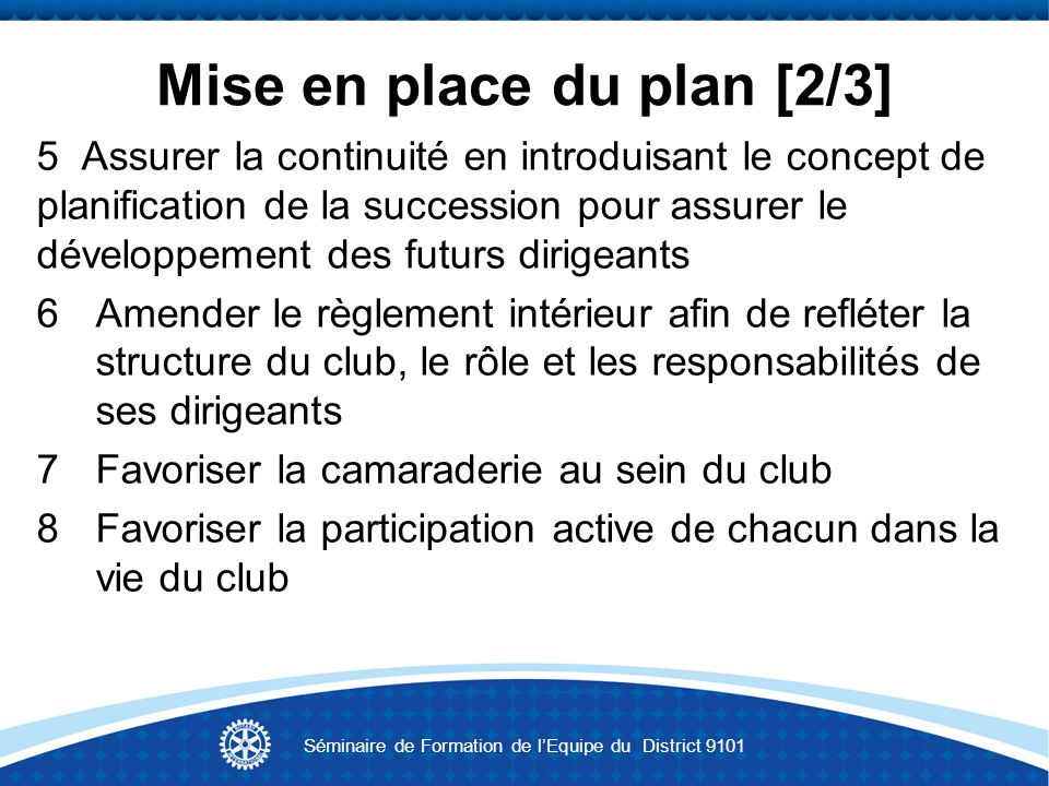Mise en place du plan [2/3]